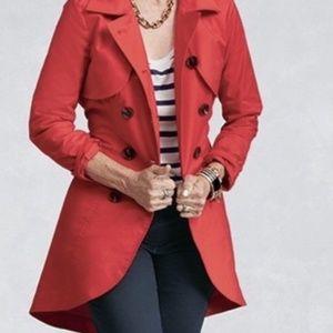 Convertible Trench Coat Vest Dress Bolero Jacket